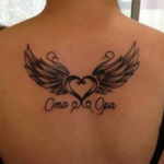 Back of neck tattoos for females
