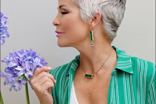 Pixie haircuts for older women